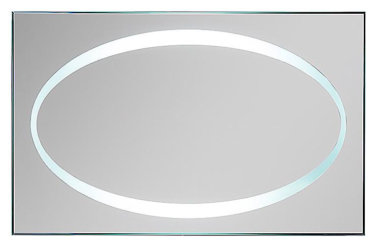 Tone H-R-40 950х600 С подсветкойМебель для ванной<br>Зеркало Aquanet Tone  H-R-40 с внутренней LED подсветкой. Комплектация: тип освещения – LED, включение/выключение инфракрасный сенсорный выключатель IR.<br>