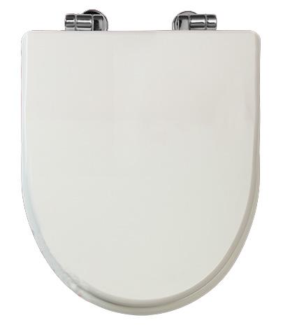 Milady Bianco CR (хром)Унитазы<br>Крышка-сиденье Migliore Milady Bianco с системой Microlift. Петли цвета хром.<br>