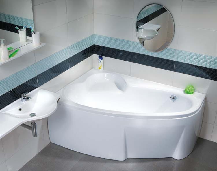 Asymmetric 160x105 LВанны<br>Ванна акриловая Ravak Asymmetric 160x105 L C461000000 левая. Цвет белый.<br>