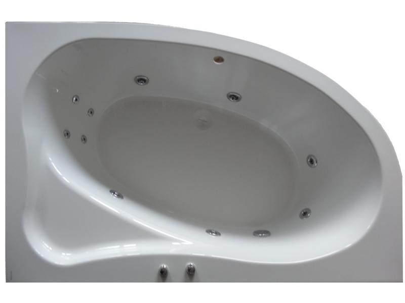 Lyra 170 с гидромассажем L Optima HMВанны<br>Акриловая ванна Riho Lyra 170 левая. В комплектацию входит: гидромассажная система OPTIMA HM: 6 микрофорсунок d=32 мм (спинной массаж 4 штуки, ножной массаж 2 штуки), 4 форсунки d=64 мм по периметру, водозаборник, кнопка пуска HM и регулятор воздуха, cточный комплект Alcaplast A55K и металлический каркас. Все оборудование приобретается отдельно.<br>
