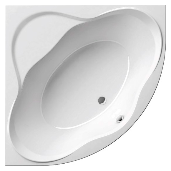 NewDay 150 Белая PU-Plus 150Ванны<br>Акриловая ванна Ravak New Day 150x150 угловая с широкими бортиками. В стоимость входит только ванна, всё остальное приобретается отдельно. К ванне можно заказать аксессуары (опору, сточный комплект для ванны с переливом) и переднюю панель, подголовники. Технология PU Plus - замена слоя стекловолокна, который укрепляет акриловую ванну, жесткой полиуретановой пеной. Цвет белый.<br>