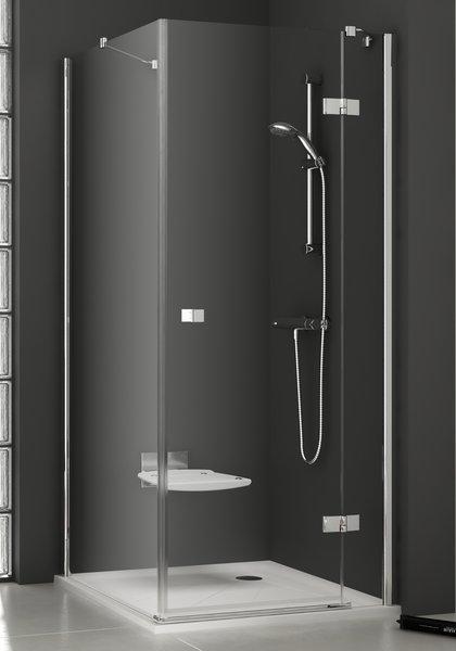 Smartline SMPS-80  LДушевые ограждения<br>Душевая стенка Ravak Smartline SMPS-80 L. Артикул 9SL40A00Z1. Устанавливается в облицованный кафелем угол ванной комнаты на поддоны RAVAK Angela, Perseus, Perseus Pro, Perseus Pro FLAT, Gigant Pro, Gigant Pro FLAT или непосредственно на пол со встроенным душевым каналом. Установочный профиль позволяет исправить строительные неровности (по 1,5 см в каждую сторону).<br>