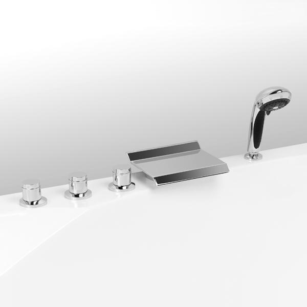 Grand Lux 91А0105022 ХромСмесители<br>Смеситель Vega Grand Lux 91А0105022 встраиваемый на борт ванны на 5 элементов<br>