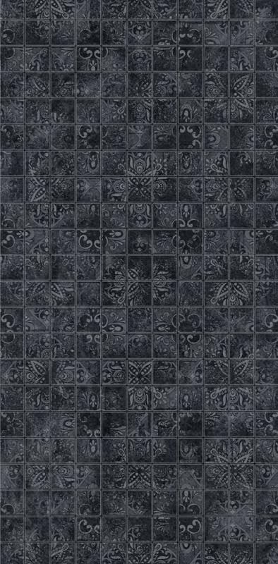 Керамическая плитка Dual Gres Buxy-Modus-London Mosaico Deluxe Black декор 30х60 см