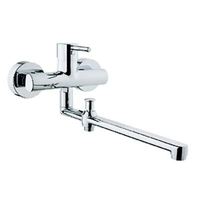 Minimax S A42037EXP ХромСмесители<br>Смеситель Vitra Minimax S A42037EXP для ванны с длинным изливом 350мм<br>