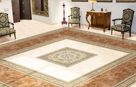 Керамическая плитка Absolut Keramika Marble Beige 45x45 напольная стоимость