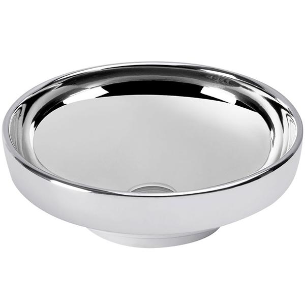 Water Jewels 4334B071-0016 ПлатинаРаковины<br>Круглая раковина-чаша Vitra Water Jewels Bowl 40 4334B071-0016 накладная.<br>Материал: керамика (Fine Fire Clay).<br>Глазированное покрытие. <br>Долгий срок службы и высокий уровень гигиены.<br>Качественная шлифовка поверхности.<br>Тест на отсутствие микротрещин: 100%.<br>Монтаж: крепление к столешнице.<br>Простота в уходе.<br><br>В комплекте поставки:<br>чаша умывальника.<br><br>
