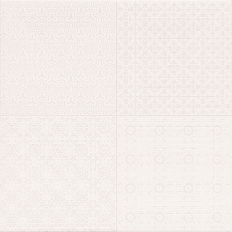 Керамическая плитка Cristacer Retro Blanco 45x45 напольная керамическая плитка cristacer cordoba roseton leon dec 90x90