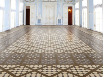 Керамическая плитка Cristacer Castell Marron 45x45 напольная керамическая плитка cristacer cordoba roseton leon dec 90x90