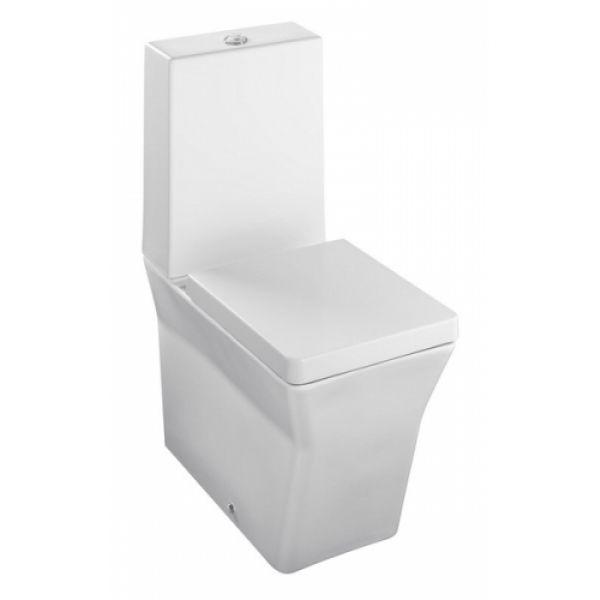 Reve 5033K БелыйУнитазы<br>Jacob Delafon Reve 5033K: полное прилегание к стене, крышка-сиденье с микролифтом.<br>
