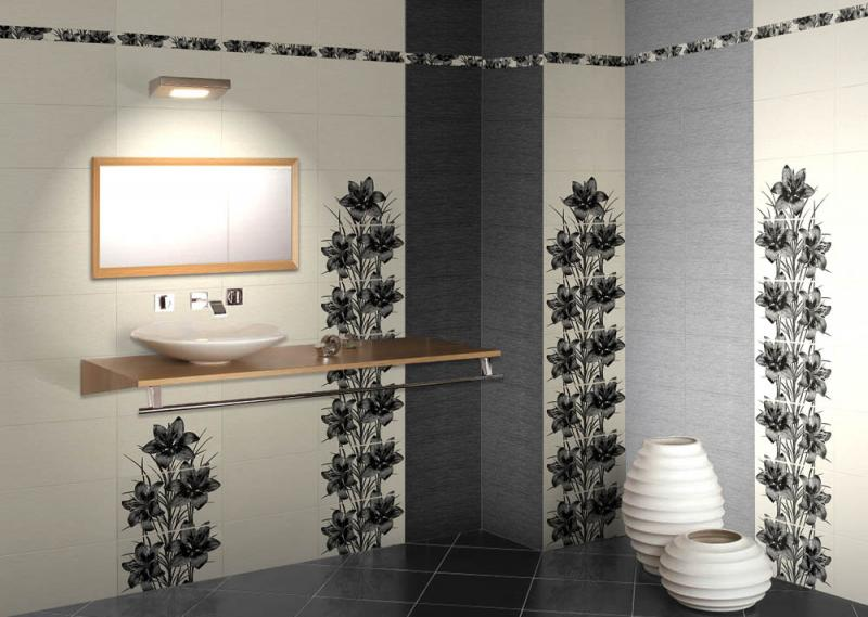 Фото - Керамическая плитка Нефрит Керамика Piano Черный 5х40 бордюр гламур 4 плитка настенная тип 1 27 5х40