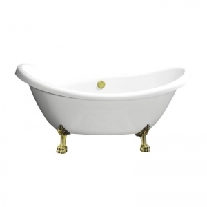 BB05-ORO БелаяВанны<br>Свободностоящая акриловая ванна BelBagno BB05-ORO.<br>