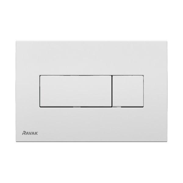 Universal БелаяИнсталляции<br>Кнопка слива Ravak Universal X01457. Покрытие устойчивое к царапинам.<br>