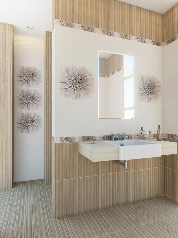 Керамическая плитка Golden Tile Зебрано Коричневый 40х40 напольная стоимость