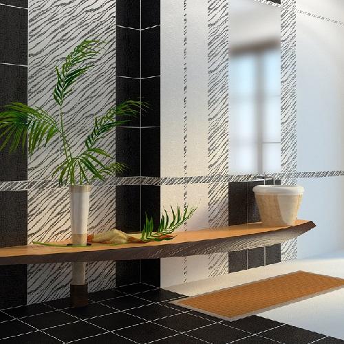 Керамическая плитка Golden Tile Кайман Белый 25х40 настенная