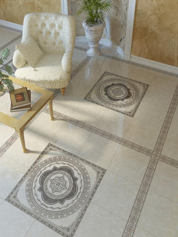 Керамогранит Golden Tile Вулкано Бежевый 9,3х9,3 вставка стоимость