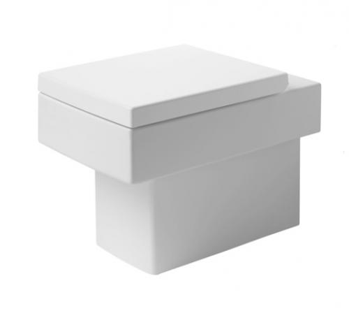Vero 2117090000 БелыйУнитазы<br>Унитаз напольный Duravit Vero 2117090000. Цвет белый. В комплект поставки входит чаша унитаза.<br>