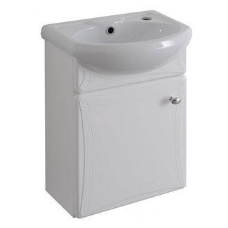 Котка 40 БелаяМебель для ванной<br>Тумба под раковину подвесная Aqualife Design Котка 40.  Стоимость указана только за тумбу. Раковина приобретается отдельно.<br>