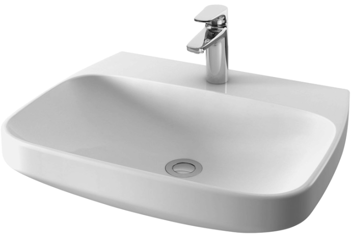Inspire C504321WH ПодвеснаяРаковины<br>Раковина подвесная AM PM Inspire C504321WH в современном стиле. Материал исполнения - стекловидный фарфор, обладающий большей плотностью, чем фаянс, а также высокой стойкостью к влаге, запахам и грязи. Покрытием служит специальная глазурь, толщиной 0.8-1.1 мм, которая обеспечивает очень гладкую поверхность и высокую стойкость к царапинам, а также сохранение цвета на долгие годы.<br>