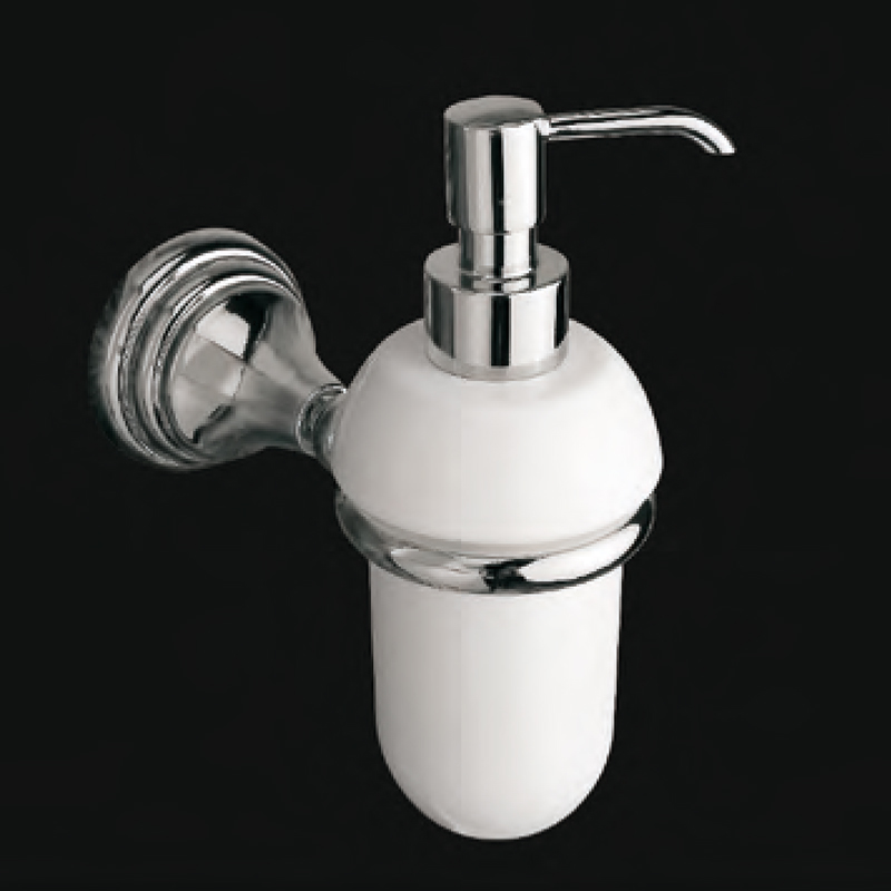 Victoria LUX-VIC-CL310 ЗолотоАксессуары для ванной<br>Емкость для жидкого мыла Victoria LUX-VIC-CL310-GL цвет золото.<br>