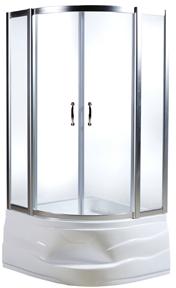Sense deep W75E-222A090MT  матовый хром/стекло прозрачноеДушевые ограждения<br>Душевой уголок AM PM Sense deep W75E-222A090MT. в современном стиле предназначенный для компактных санузлов. Надежная конструкция алюминиевого профиля, металлические ролики. Стекло прозрачное, закаленное, толщиной 6 мм. Глубокий поддон с сиденьем и все дополнительные комплектующие необходимо приобрести отдельно.<br>