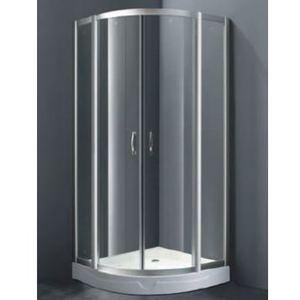 Sense W75E-225-090MT  матовый хром/прозрачное стеклоДушевые ограждения<br>Душевой уголок  АМ РМ Sense W75E-225-090MT 90х90 см в современном стиле с раздвижными дверьми. Цвет профиля матовый хром, стекло прозрачное, закаленное, толщиной 6 мм. Оснащен прочными металлическими роликами. Предназначен для компактных санузлов. Поддон заказывается дополнительно.<br>