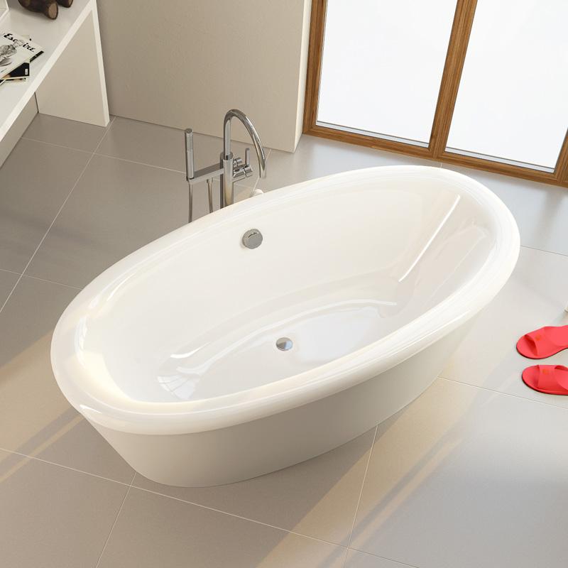 Amur 180 цвет белыйВанны<br>Овальная ванна Alpen Amur 1800x900x480 цвет белый.<br>