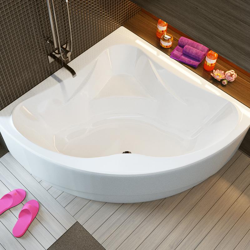 Акриловая ванна Alpen Rumina 135x135 - фото