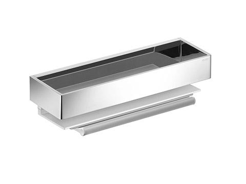 Edition 11 11159 010000 ХромАксессуары для ванной<br>Корзинка для душа со встроенным стеклоочистителем Keuco Edition 11 11159 010000. Алюминий анодированный серебристый.<br>