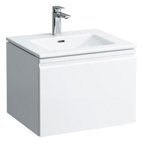 Pro S 8.6096.2.463.104.1 Белая (матовая)Мебель для ванной<br>Тумба с раковиной Laufen Pro S 8.6096.2.463.104.1. Монтаж подвесной. Материал корпуса: влагостойкая ЛДСП. Матовое покрытие корпуса. Материал фасада: МДФ. Материал раковины: фаянс. С ящиками.<br>