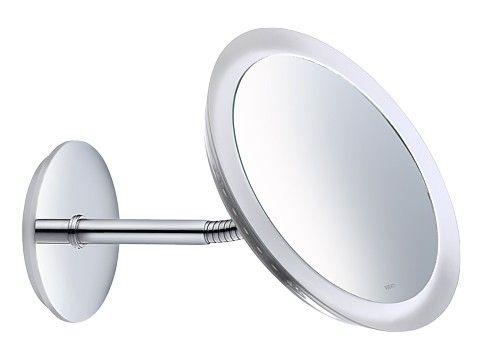 Kosmetikspiegel 17605 019000 ХромАксессуары для ванной<br>Косметическое зеркало Keuco Kosmetikspiegel 17605 019000  с подсветкой настенное, одностороннее, вогнутое 1 x 8 Вт (не требующая замены лампа). Коэффициент увеличения x 3.<br>