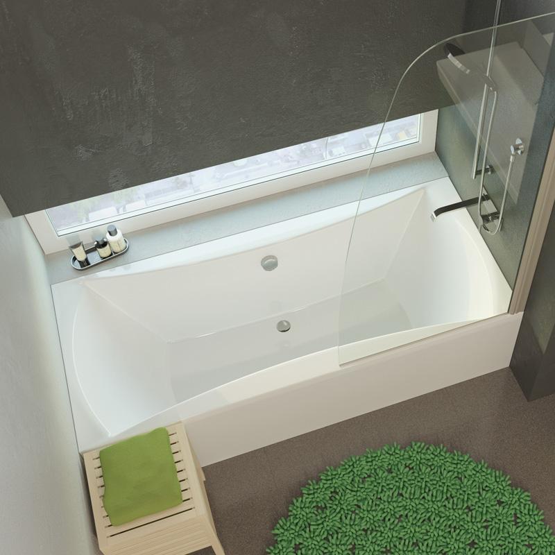 Luna 170 цвет белыйВанны<br>Ванна Alpen Luna 1700x750x440 AVP0008. Цвет белый. Цена указана только за ванну, все дополнительное оборудование приобретается отдельно.<br>