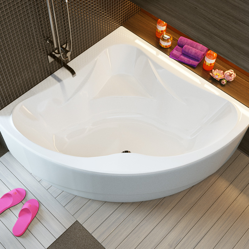 Rumina 150 цвет белыйВанны<br>Ванна Alpen Rumina 1500x1500x440 AVY0055. Цвет белый. Цена указана только за ванну, все дополнительное оборудование приобретается отдельно.<br>
