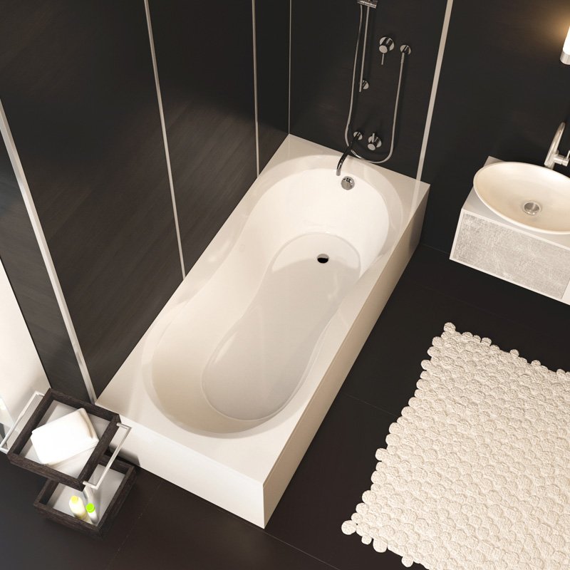Mars 170 цвет белыйВанны<br>Ванна Alpen Mars 1700x750x420 AVP0016. Цвет белый. Цена указана только за ванну, все дополнительное оборудование приобретается отдельно.<br>