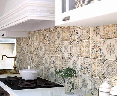 Керамическая плитка Ape Saint Tropez Mandala 15х15 настенная