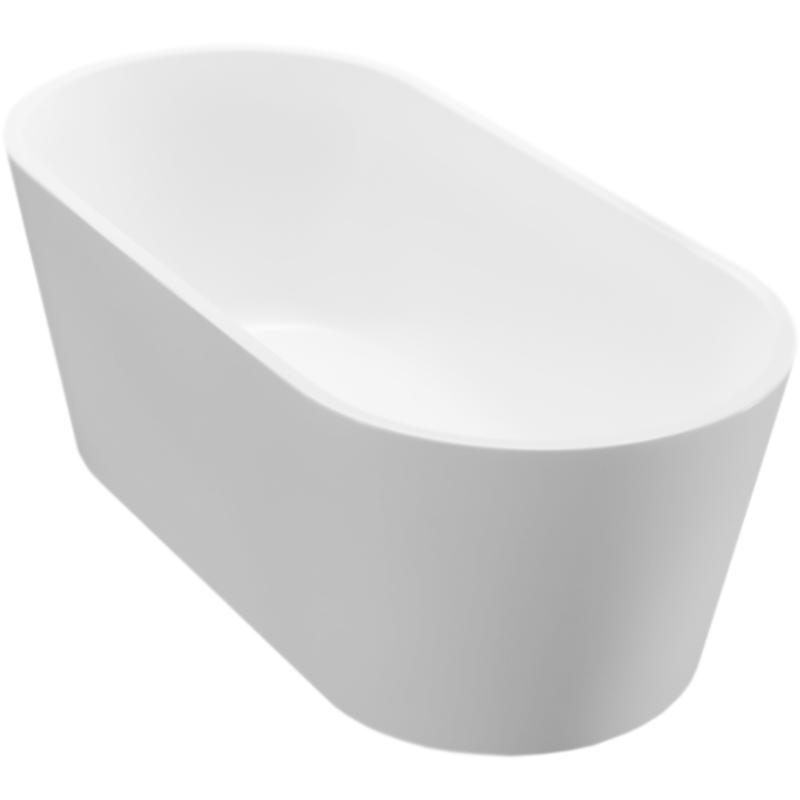 BB71-1500 150x75 без гидромассажаВанны<br>Акриловая ванна BelBagno BB71-1500 150x75 отдельностоящая, овальная, с удобным наклоном для спины с двух сторон.<br>Материал: высококачественный листовой акрил.<br>Прочность в сочетании с малым весом.<br>Эффективное звукопоглощение.<br>Неприхотливость в уходе.<br>Гладкая и не скользкая поверхность.<br>Акрил быстро нагревается и долго сохраняет тепло.<br>С первого прикосновения чувствуется тепло из-за низкой теплопроводности.<br>Регулировка ножек для компенсации неровностей поверхности пола.<br>Расположение слива: в центре.<br>Диаметр сливного отверстия: 5 см.<br>Вес: 48 кг.<br><br>В комплекте поставки:<br>чаша ванны; <br>комплект ножек;<br>слив-перелив цвета хром.<br><br>