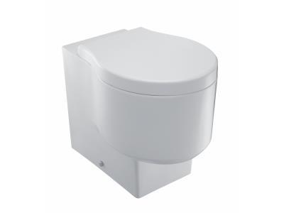 Formilia E4772 БелыйУнитазы<br>Jacob Delafon Formilia E4772: эргономичное сиденье высотой 41 см.<br>