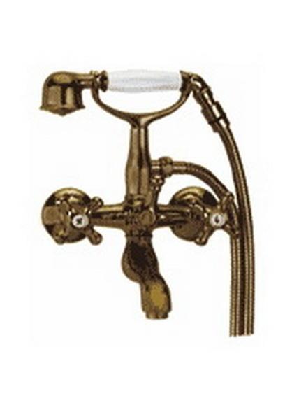 Sempre 23.004.04 БронзаСмесители<br>MANZZARO Sempre 23.004.04  cмеситель для ванны. Лейка со шлангом идут в комплекте.<br>