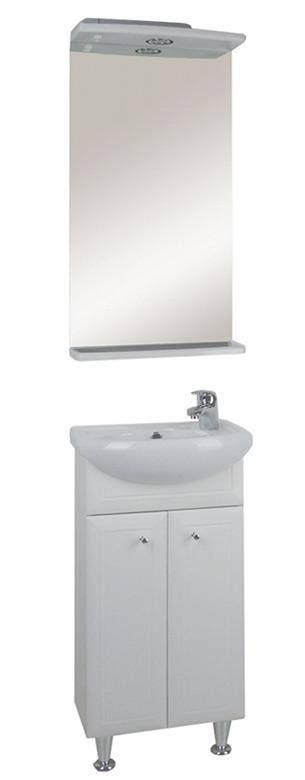 Астра 40 БелаМебель дл ванной<br>Тумба под раковину напольна АСБ-мебель Астра 40.<br>