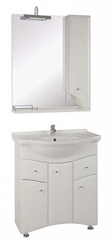 Астра-75-2Н БелаяМебель для ванной<br>Тумба под раковину напольная АСБ-мебель Астра-75-2Н.<br>