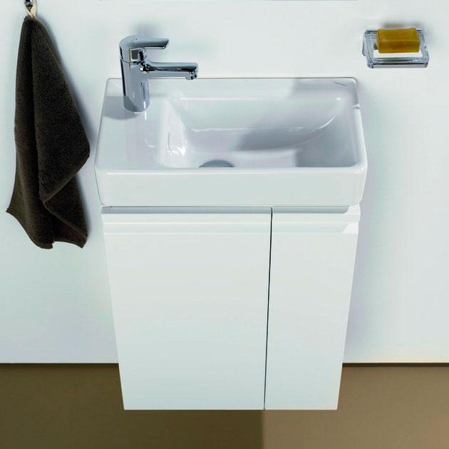Pro 4.8300.1.095.463.1 БелаяМебель для ванной<br>Тумба под рукомойник Laufen Pro 4.8300.1.095.463.1.Монтаж подвесной. Материал корпуса: МДФ. Материал фасада: МДФ. Ориентация: левая. Цвет: белый матовый.<br>