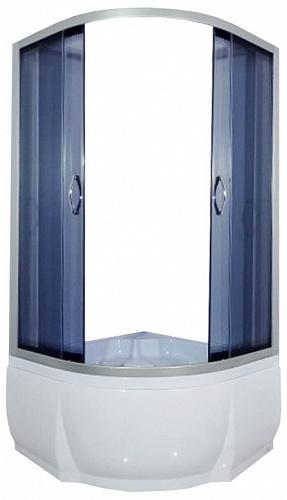 Don 80x43 ТН   С поддономДушевые ограждения<br>Душевой уголок River Don 80x43 ТН с поддоном полукруглый с боковым регулировочным профилем и саморегулирующимися металлическими, хромированными, двойными роликами.<br>