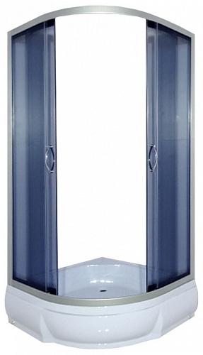 Don 100x26 ТН С поддономДушевые ограждения<br>Душевой уголок River Don 100x26 ТН с поддоном высотой 26 см полукруглый с боковым регулировочным профилем и саморегулирующимися металлическими, хромированными, двойными роликами.<br>