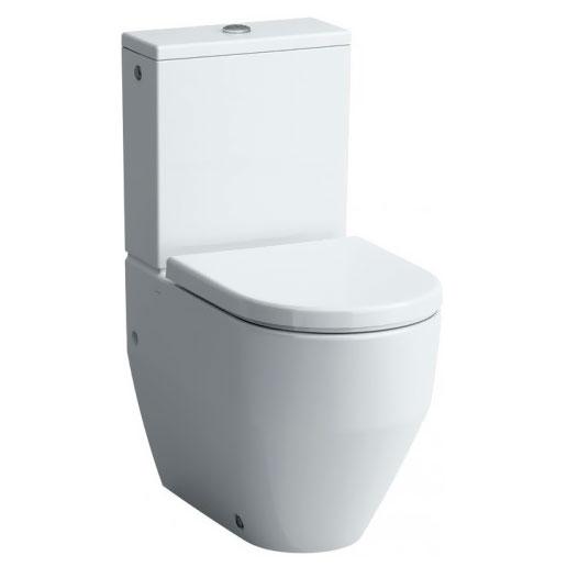 Pro New 8.2595.2.000.231.1 БелыйУнитазы<br>Унитаз-компакт напольный Laufen Pro 8.2595.2.000.231.1. Система антивсплеск. Направление выпуска: вертикальный (в пол), горизонтальный (в стену). Метод установки сливного бачка: поверх унитаза. Объем бачка: 3/6 л. Подвод воды: снизу бачка. Организация смывающего потока: душевой слив (воронка-водоворот). Режим слива воды: две кнопки (режим эконом). Механизм слива: механическая кнопка.<br>