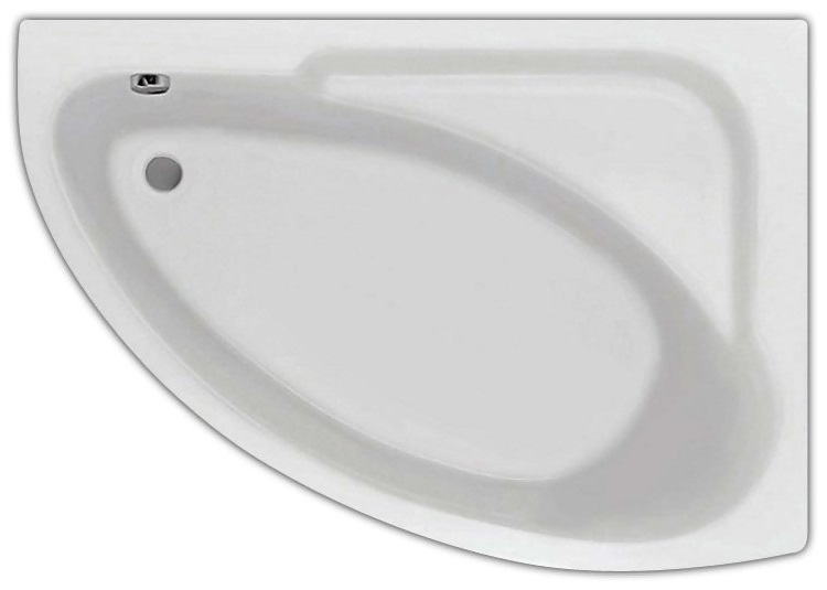 Акриловая ванна Santek Гоа 150 R без гидромассажа R