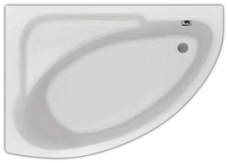 Гоа 150 L без гидромассажа LВанны<br>Акриловая ванна Santek Гоа угловая, монтаж в правый угол.<br>