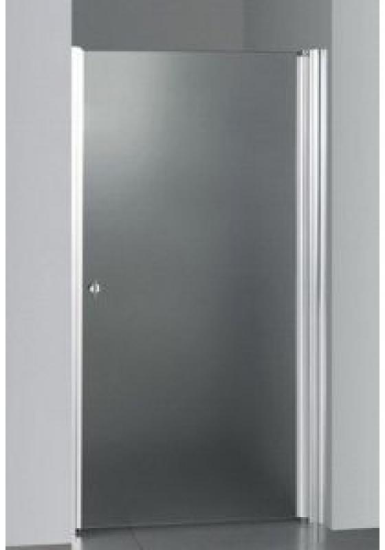Bosfor 80 ТН Тонированное стекло/профиль хромированныйДушевые ограждения<br>Дверь для душа распашная 1-створчатая River Bosfor 80 ТН (открывается наружу). Возможна регулировка ширины двери + 2 см от размера за счет боковых регулировочных профилей. Cтекло 5 мм.<br>