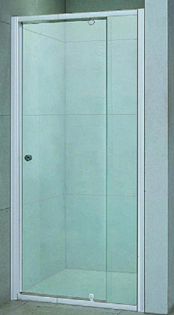 Bosfor 90 МТ  Матовое стекло/профиль хромированныйДушевые ограждения<br>Дверь для душа распашная 1-створчатая River Bosfor 90 МТ (открывается наружу). Возможна регулировка ширины двери + 2 см от размера за счет боковых регулировочных профилей. Cтекло 5 мм.<br>