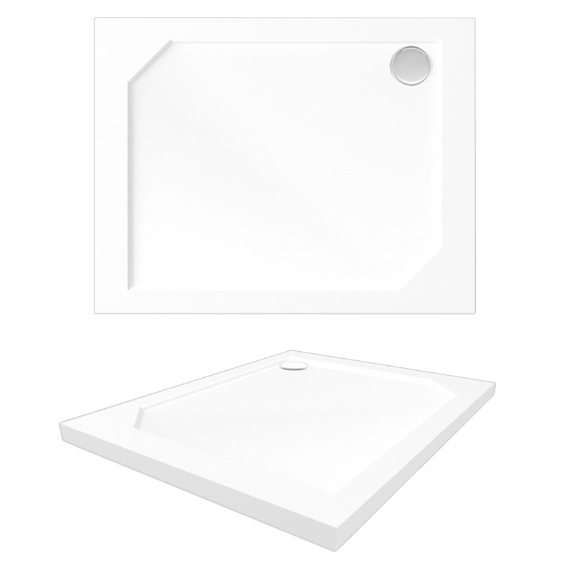 Cron 1100x900 APS0065 цвет белыйДушевые поддоны<br>Мраморный поддон Alpen Cron 1100x900.<br>Артикул: APS0065<br>