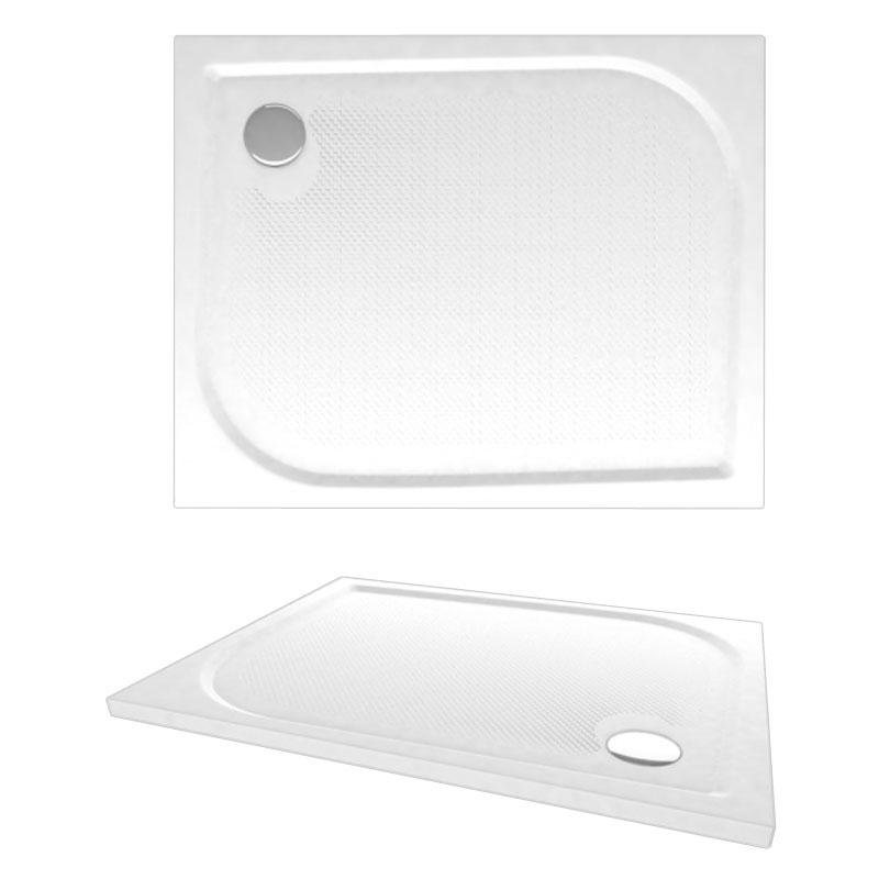 Fides 1000x800 APS0070 цвет белыйДушевые поддоны<br>Мраморный поддон Alpen Fides 1000x800.<br>Артикул: APS0070<br>